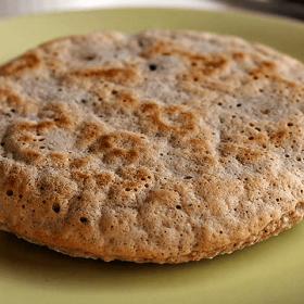 Pão de Aveia na Frigideira