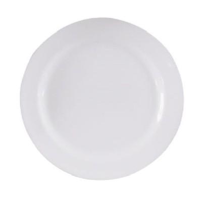 Prato Raso 28cm C/Aba Porcelana Oxford