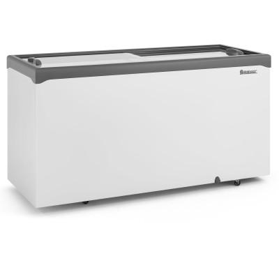 Freezer Horizontal 534L dupla ação 2 tampas vidro  Gelopar