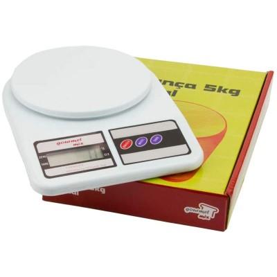 Balança Digital 5kg Gourmet Mix