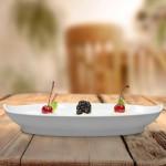 Travessinha Oval 24,5cmX14,3cm Melamina Gourmet Mix