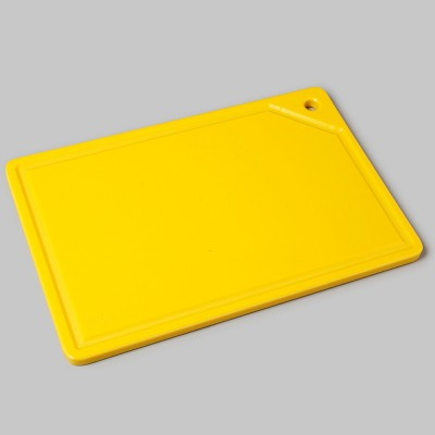 Placa de corte amarela com canaleta 10mmx250mmx350mm Solrac