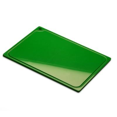 Placa de corte verde com canaleta 10mmx300mmx500mm Solrac
