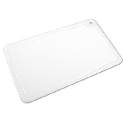 Placa de corte branca com canaleta 10mmx300mmx500mm Solrac